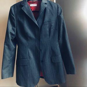 Dolce & Gabana wool Long jacket satin lining 10 44